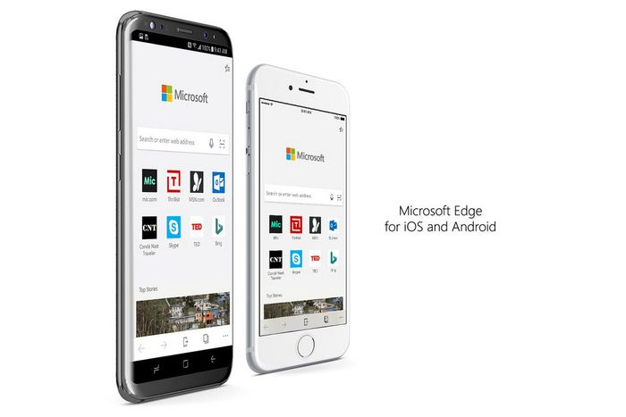 Финальная версия Microsoft Edge вышла на iOS и Android