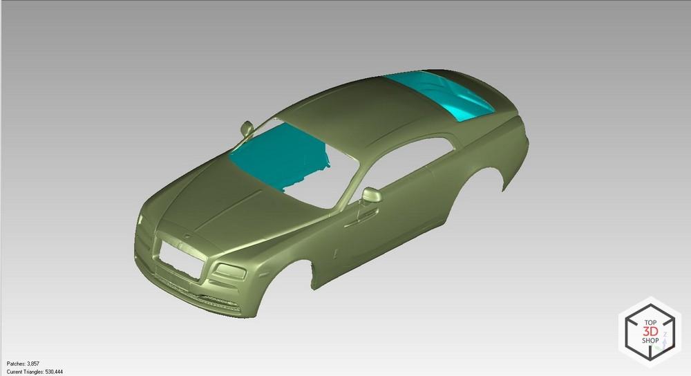 [КЕЙС] Как мы сканировали Rolls-Royce Wraith для тюнинга - 12