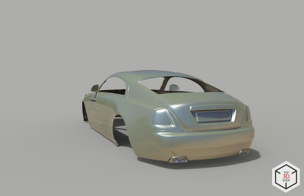 [КЕЙС] Как мы сканировали Rolls-Royce Wraith для тюнинга - 4