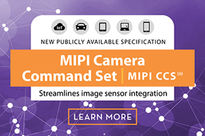 Спецификация MIPI CCS разработана в расчете на CSI-2 v2.0 и обратно совместима с предыдущими версиями этого интерфейса