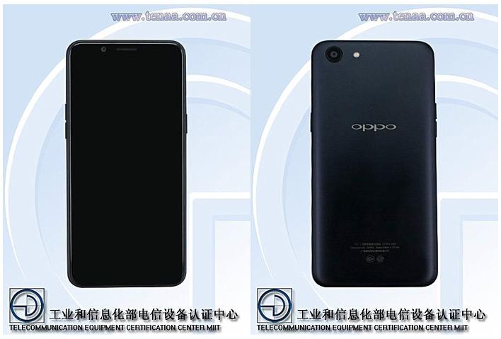 Смартфон Oppo A83 оснащен дисплеем с соотношением сторон 18:9