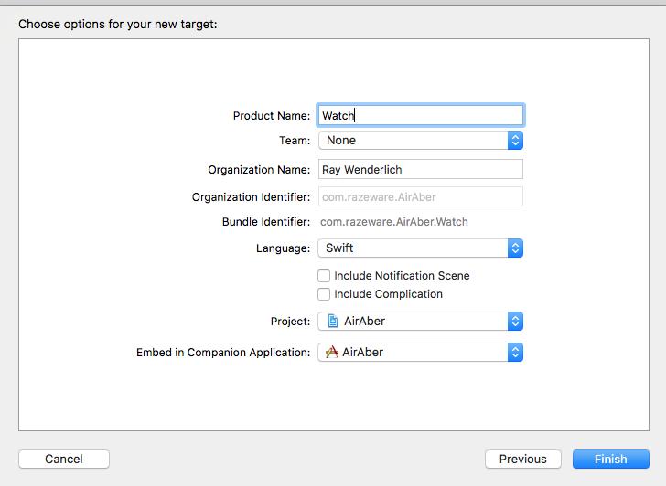 Туториал: создаём простое приложение для watchOS 4 - 4