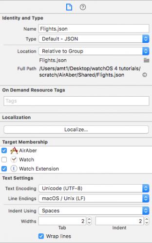 Туториал: создаём простое приложение для watchOS 4 - 8
