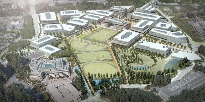 Microsoft захотела себе новый кампус