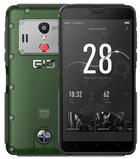 Защищенный смартфон Elephone Fighter получил неплохие характеристики и аналоговый компас