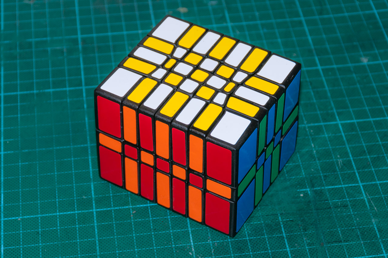 3х5х7 Cuboid или пилим Кубик Рубика - 14