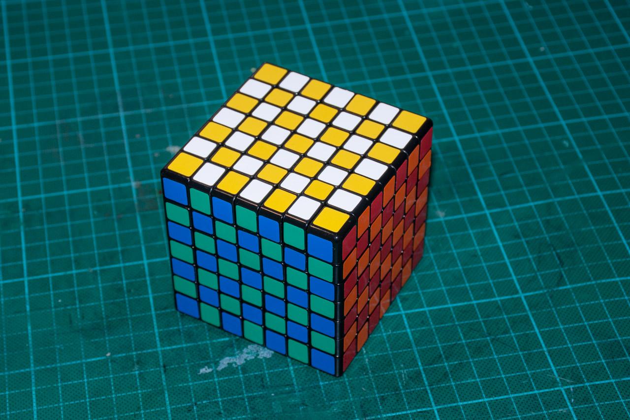 3х5х7 Cuboid или пилим Кубик Рубика - 2