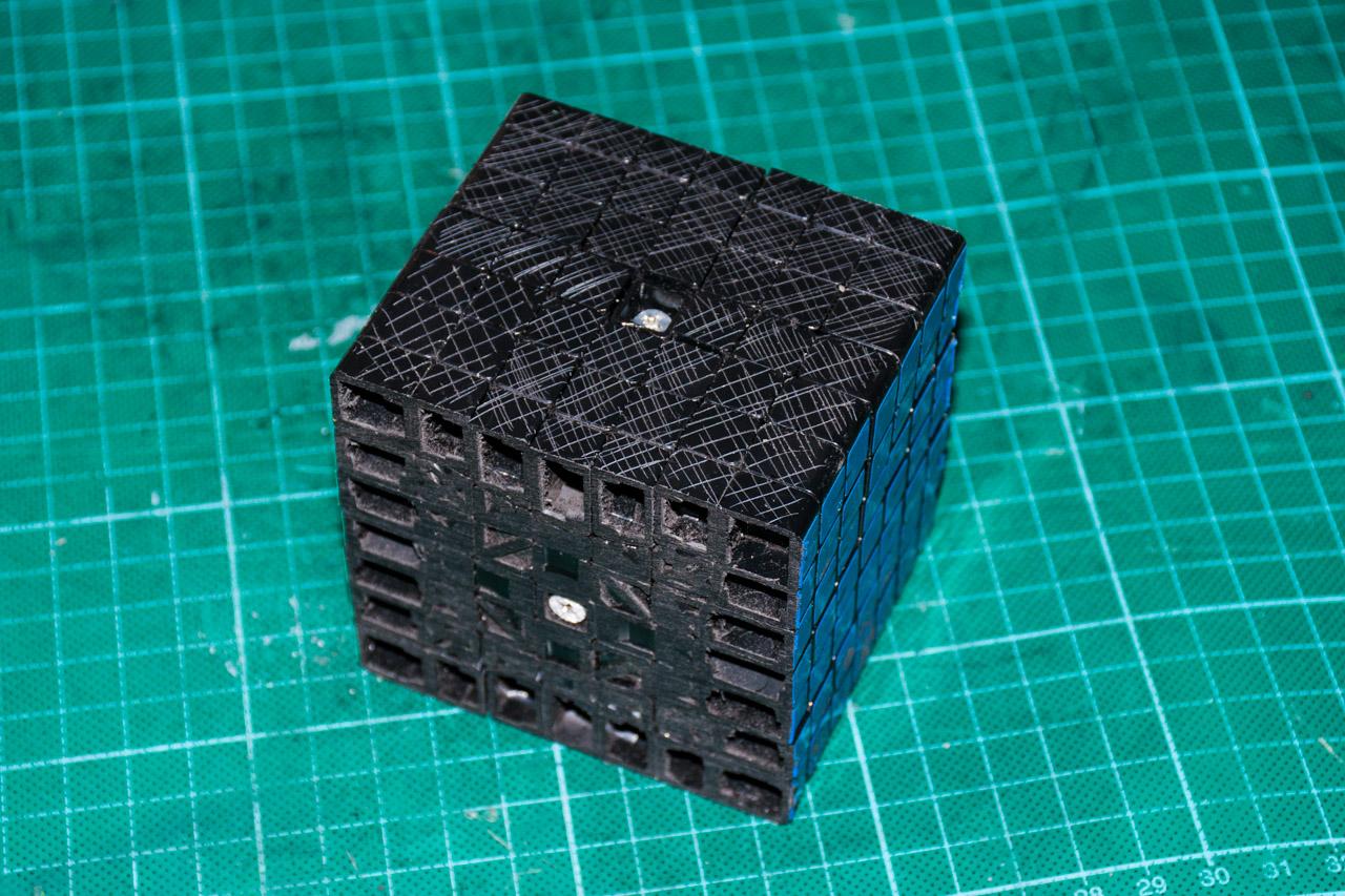 3х5х7 Cuboid или пилим Кубик Рубика - 9