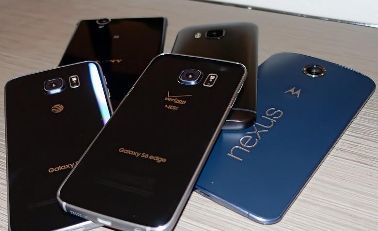 Рынок смартфонов вырос на 3%