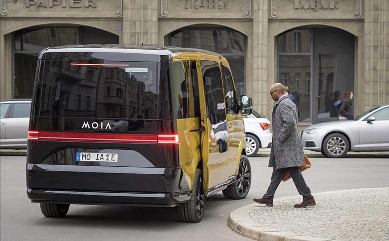 В будущем году 200 миниэлектробусов VW MOIA выйдут на улицы Гамбурга