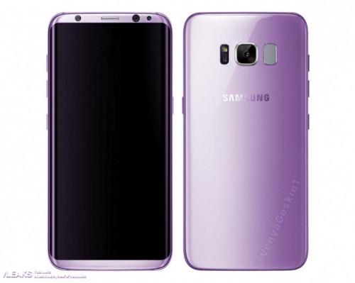 Samsung Galaxy S9 будет доступен в фиолетовом цвете