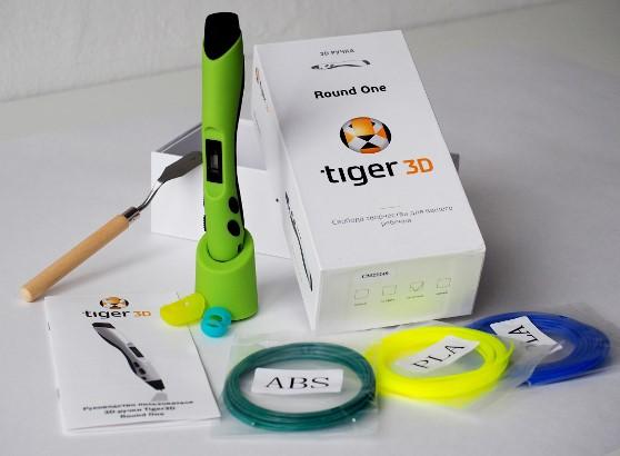Обзор 3D ручки Tiger3D Round One - 2