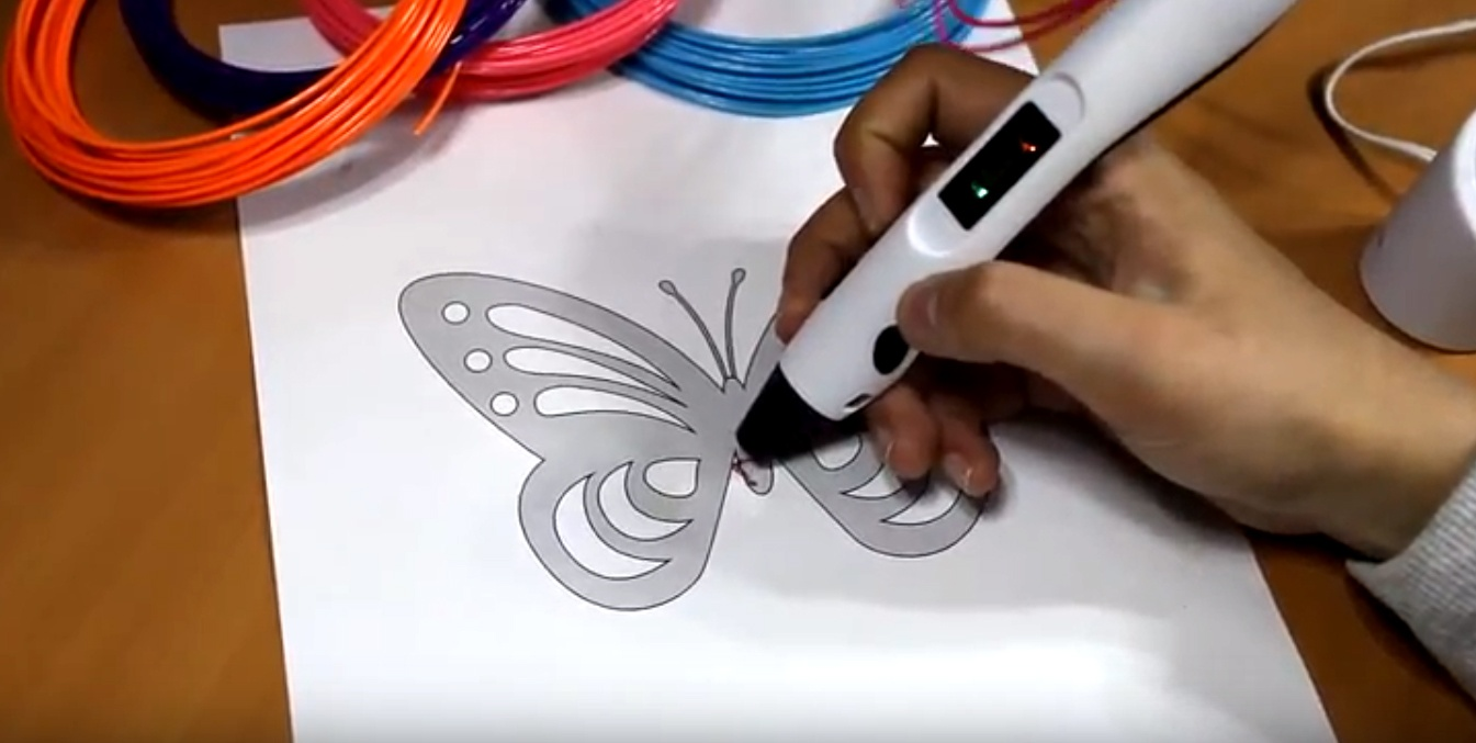 Обзор 3D ручки Tiger3D Round One - 9