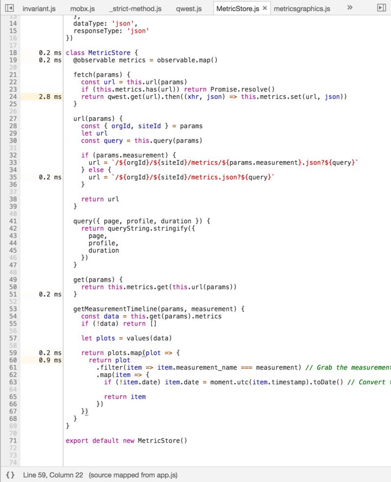 Анализ производительности React 16 приложений с помощью инструментов разработчика Chrome - 9