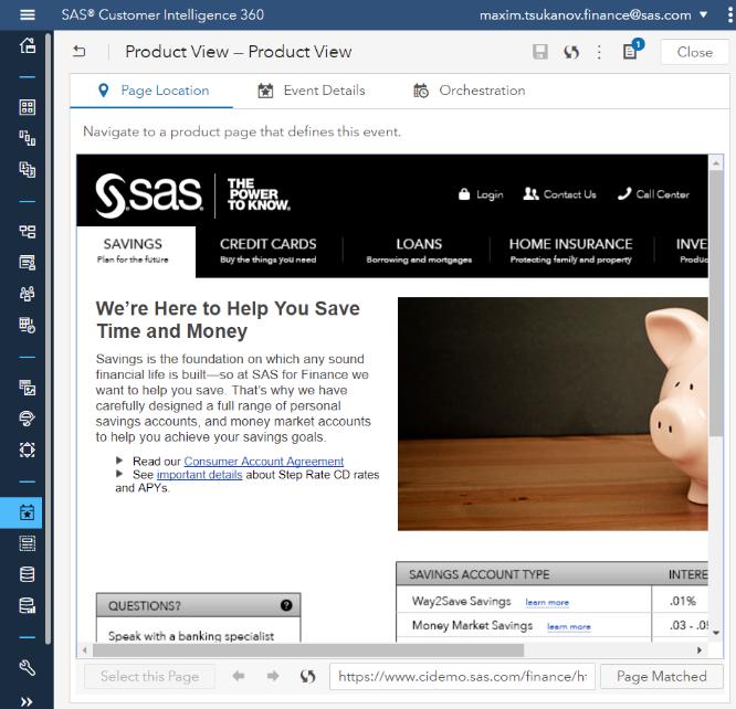 Цифровой маркетинг в режиме одного окна: разбираем облачные продукты SAS - 4