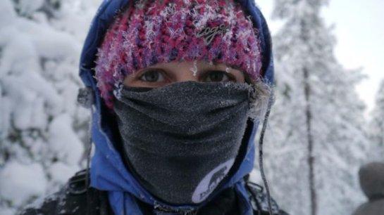 Люди, страдающие астмой, должны носить на холоде шарфы