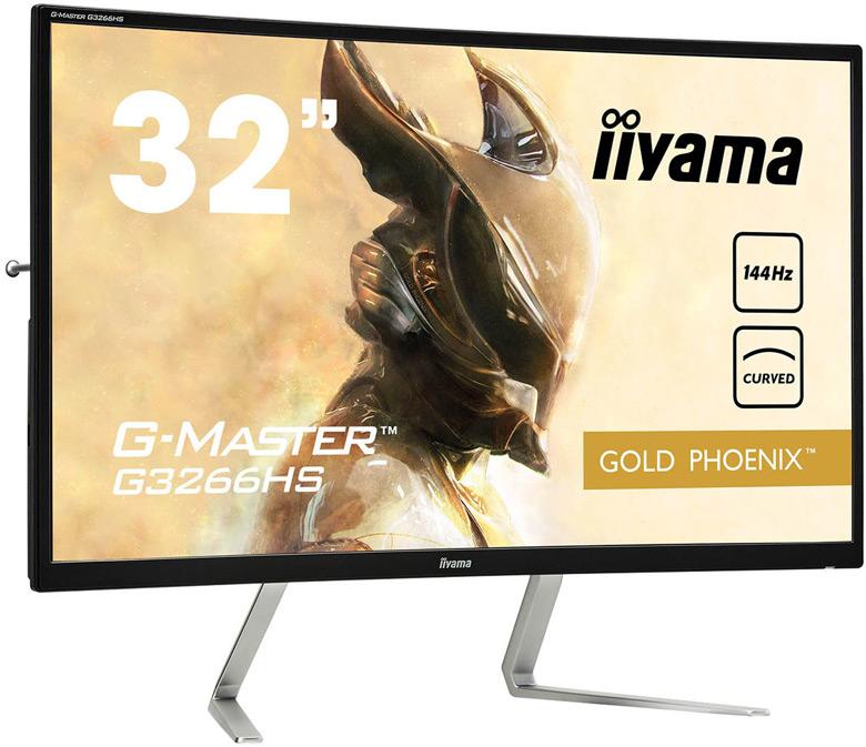 G-Master G3266HS Gold Phoenix — первый монитор iiyama с вогнутым экраном