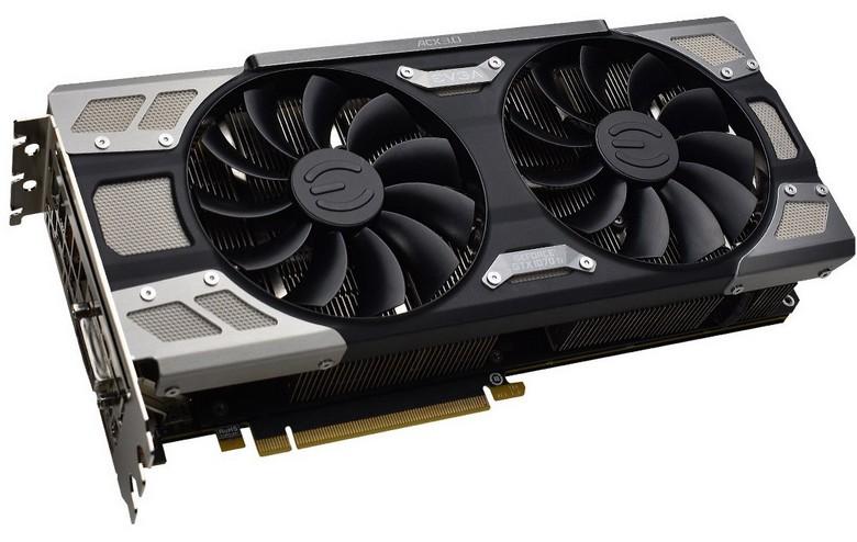 EVGA GeForce GTX 1070 Ti FTW Ultra Silent Gaming выделяется тихим кулером