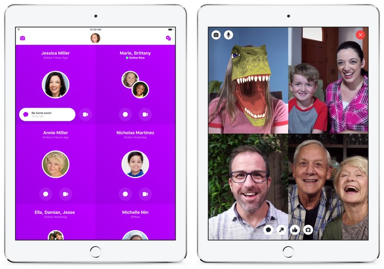 Facebook Messenger Kids стал доступен в США