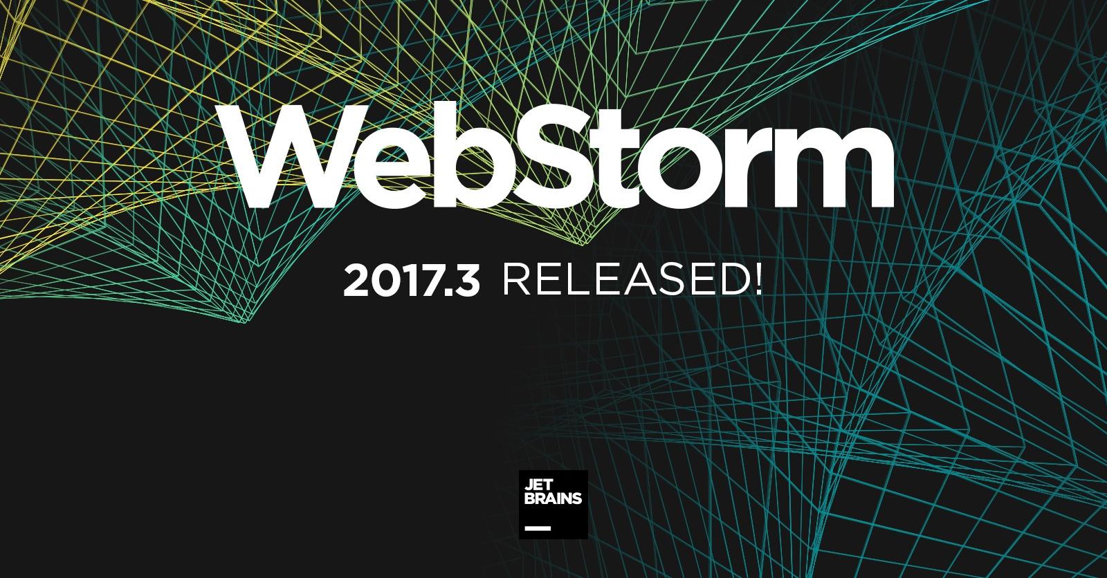 Что нового в WebStorm 2017.3 - 1