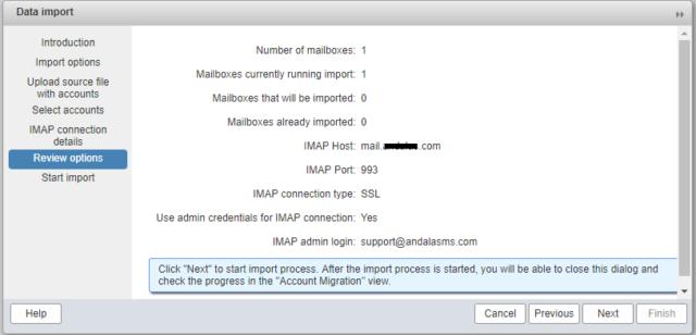 Как перенести электронную почту с cPanel на Zimbra Collaboration 8.0 - 10