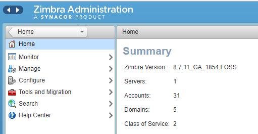 Как перенести электронную почту с cPanel на Zimbra Collaboration 8.0 - 2