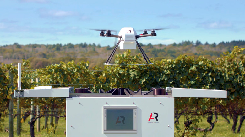 Как утверждается, беспилотный летательный аппарат может повысить эффективность растениеводства