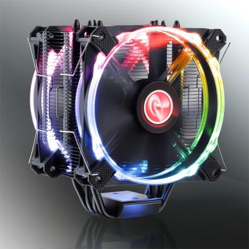 Raijintek Leto Pro оснащается двумя вентиляторами