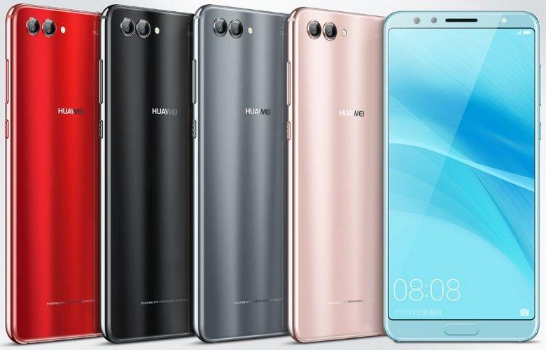 Опубликованы цветовые варианты и цены смартфона Huawei Nova 2s