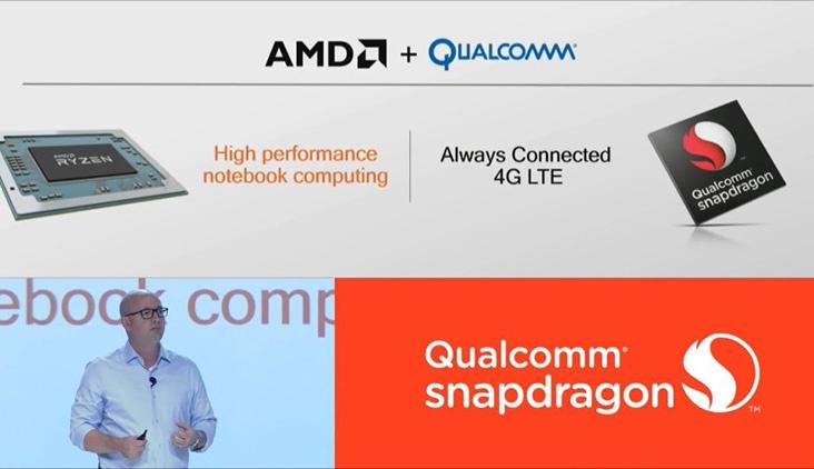 AMD и Qualcomm заключают партнерство