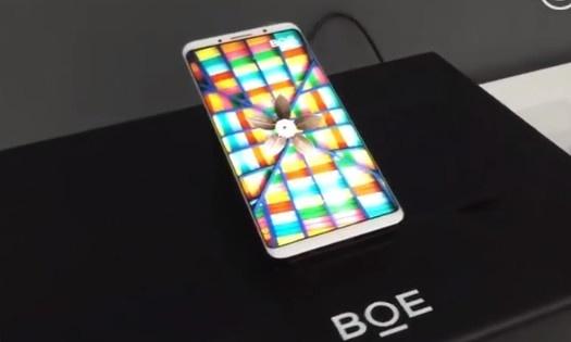 BOE уже выпускает дисплеи AMOLED