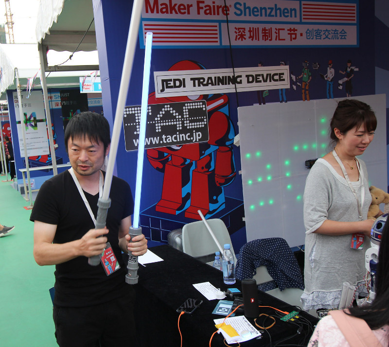 Фотоэкскурсия по MakerFair 2017 в Шэньчжене - 21