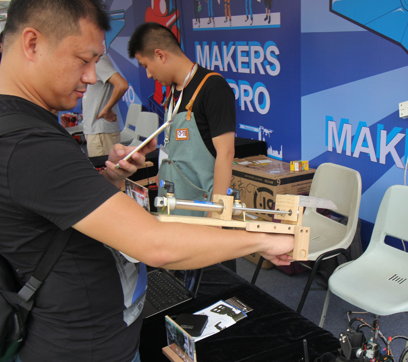 Фотоэкскурсия по MakerFair 2017 в Шэньчжене - 9