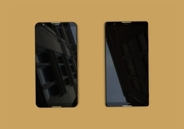 Опубликованы изображения грядущих полноэкранных смартфонов Sony Xperia
