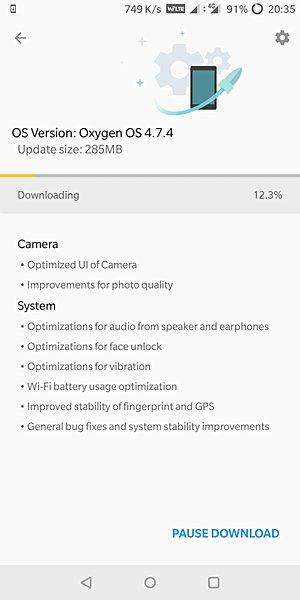 Разработчики улучшили работу камеры смартфона OnePlus 5T