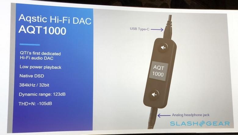 ЦАП Qualcomm AQT1000 предназначен для смартфонов без аудиоразъёма