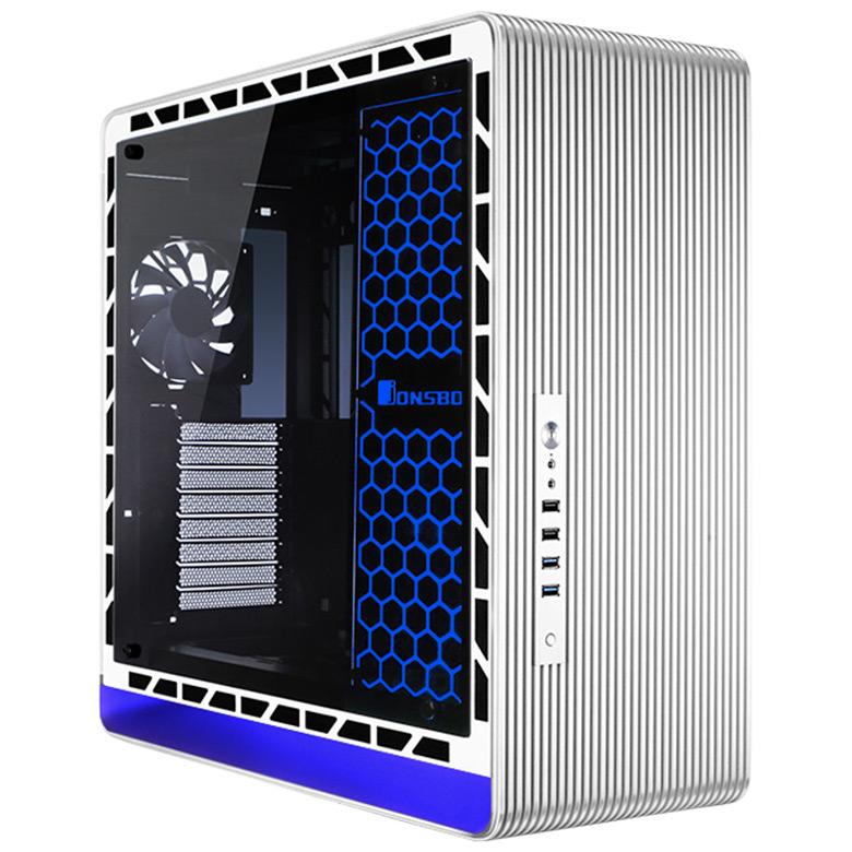 Предусмотрен выпуск черного и серебристого вариантов Jonsbo UMX5