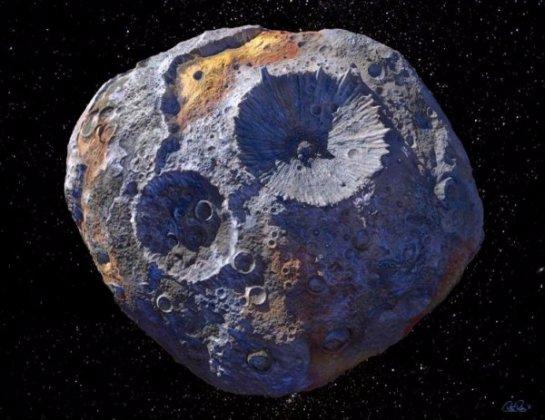 НАСА хочет отправить экспедицию на астероид, чтобы разбогатеть