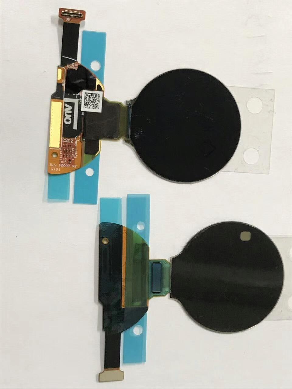 Панель диаметром 1,2 дюйма имеет разрешение 390 x 390 пикселей
