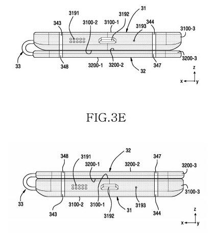 Появилось описание еще одного необычного концепта смартфона Samsung со сгибающимся дисплеем