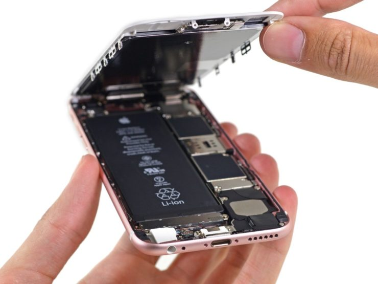 Износ  АКБ может снизить производительность ноутбуков и смартфонов Apple