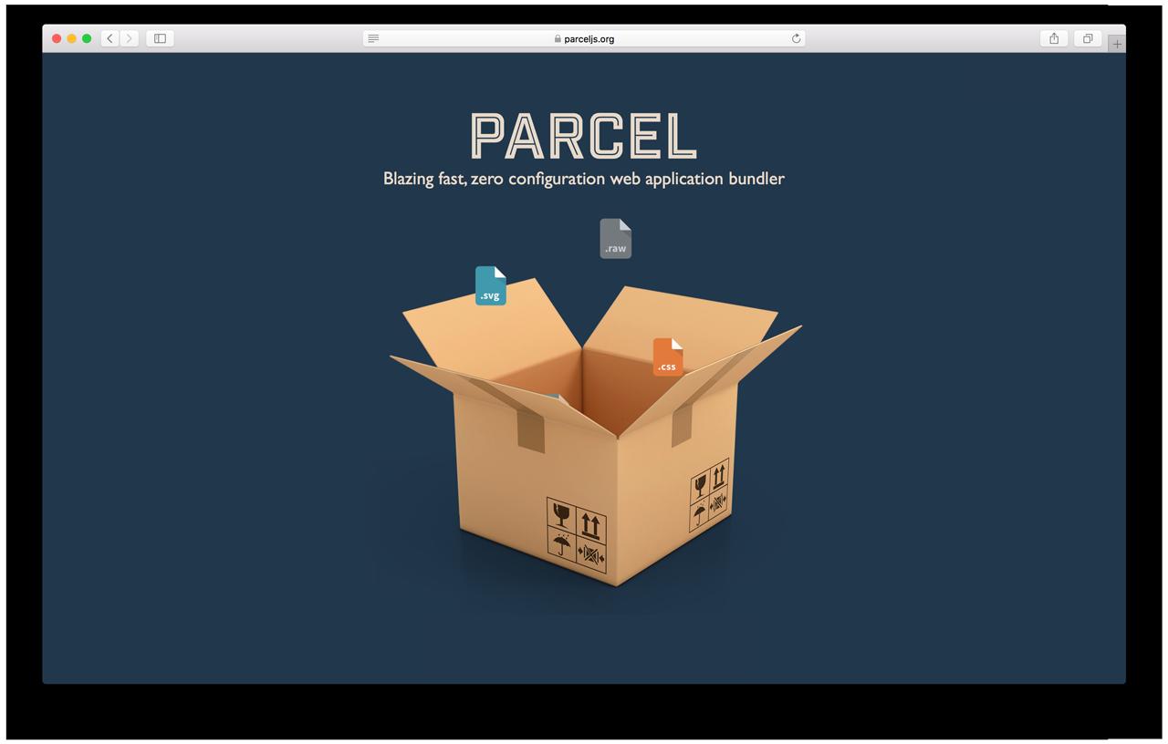 Parcel — очень быстрый бандлер, не требующий настройки - 1