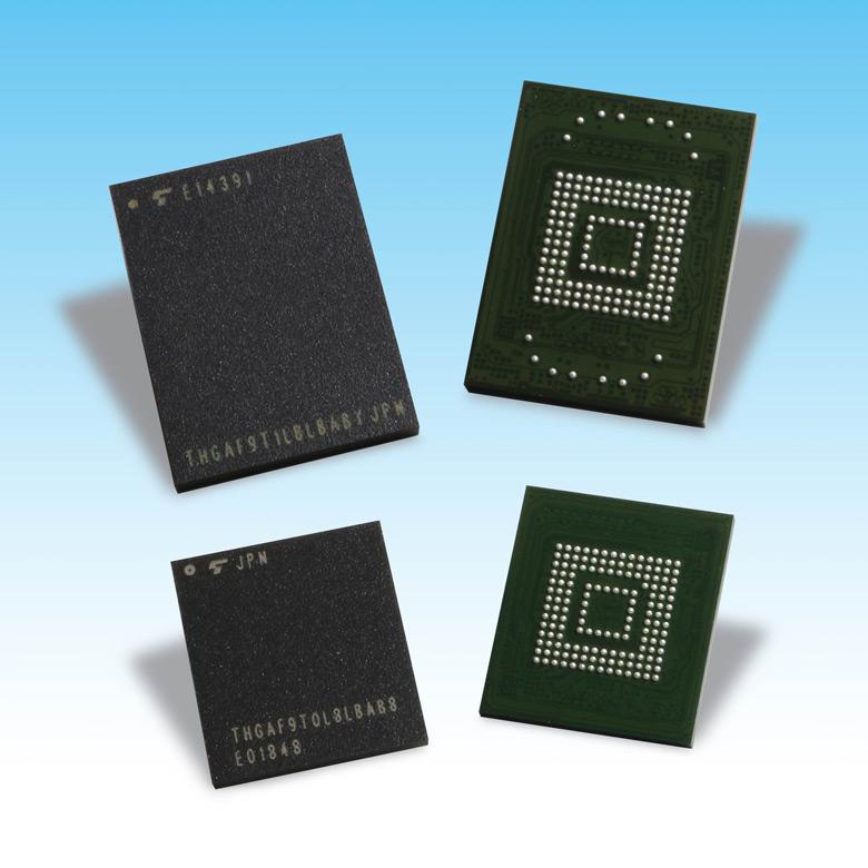 Новые модули флэш-памяти Toshiba для автомобильной электроники соответствуют спецификации UFS 2.1