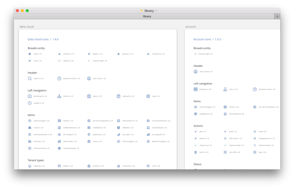 Дизайн–система Acronis. Часть вторая. Иконки, SVG шрифты, Gulp - 4