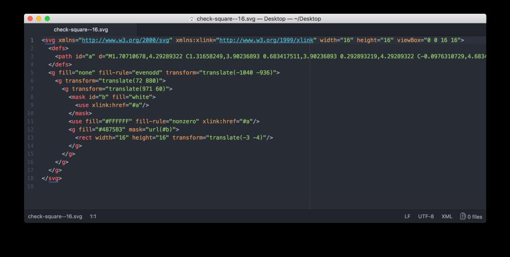 Дизайн–система Acronis. Часть вторая. Иконки, SVG шрифты, Gulp - 8