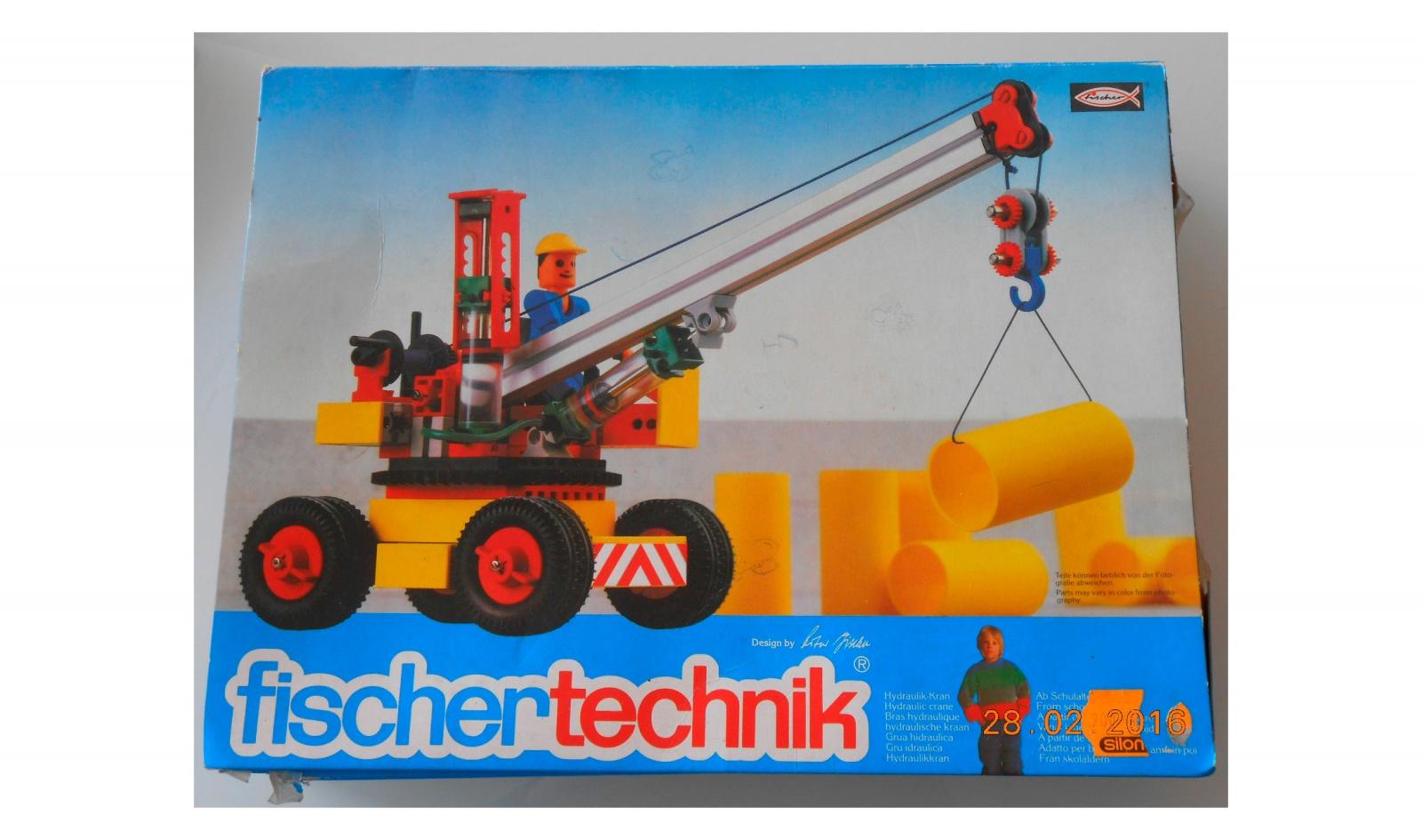 История инженерных конструкторов fischertechnik - 12