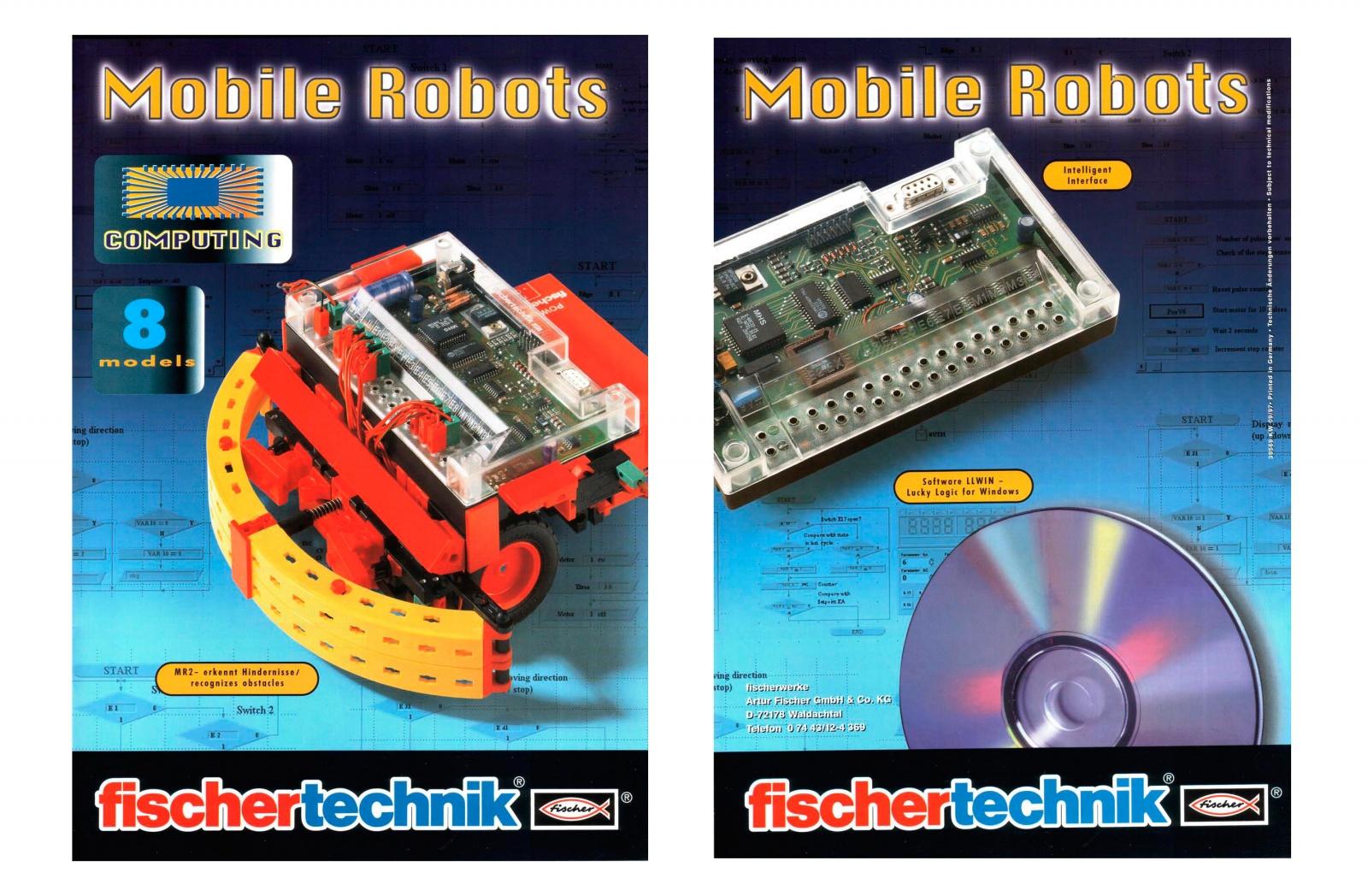 История инженерных конструкторов fischertechnik - 22