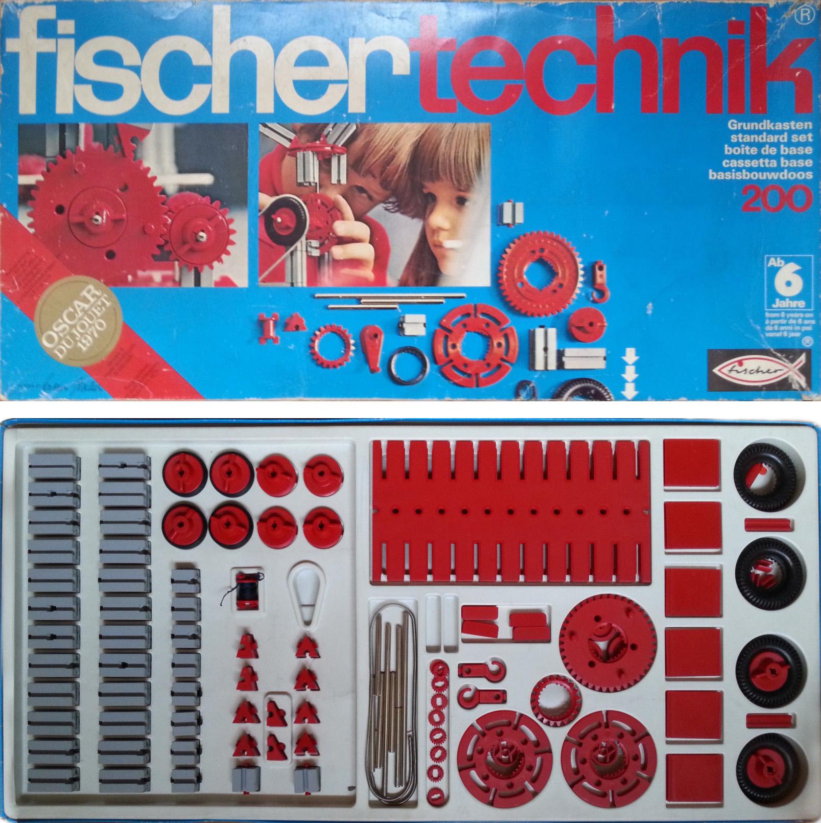 История инженерных конструкторов fischertechnik - 4