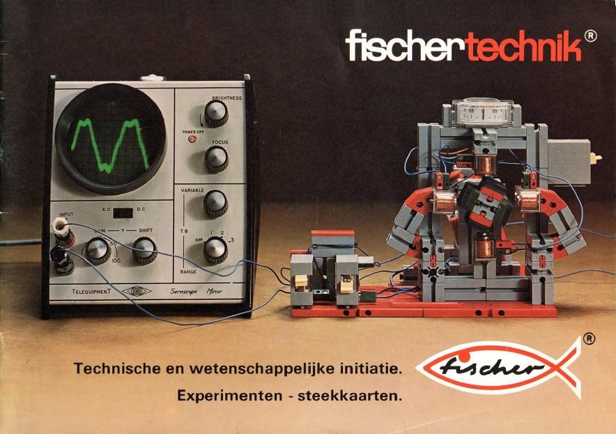 История инженерных конструкторов fischertechnik - 1